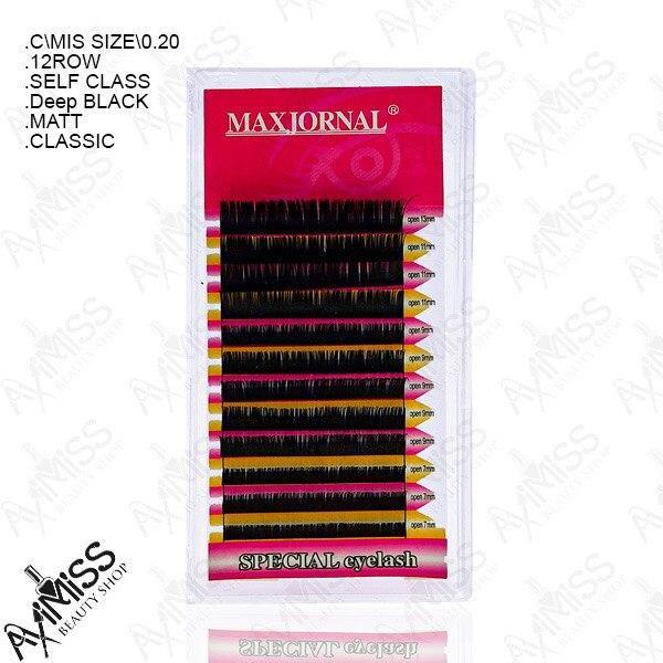 پالت مژه کلاسیک MAXJORNAL قطر 0.20