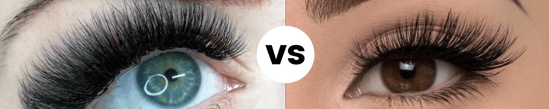 تفاوت اکستنشن و مژه والیوم